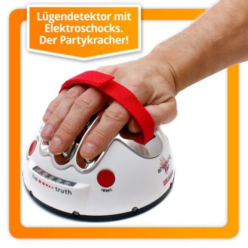Partyknüller: Lügendetektor mit Elektroschock Spielzeug Party Polygraph 2.0