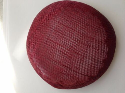 15 Cm Redondo endurecidas Fascinator de la base ideal para hacer tocados//Fiesta Sombreros