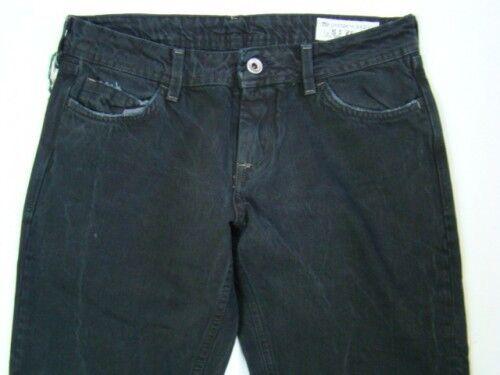 Nero Denim Pantaloni Meltin´pot Pants Leg 125€ Straight Nuovo Trousers Mesh rq8nCq7