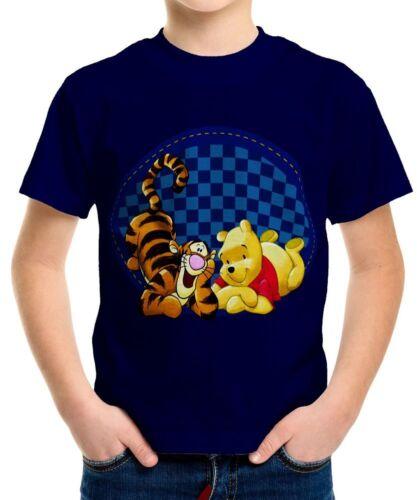 Tigger Boys Kid Youth T-Shirt Tee Age 3-13 New