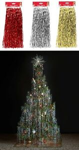 Angel Hair Christmas Decoration.Details About Christmas Tree Decoration Lametta Tinsel Angel Hair Icicles Xmas Hanging 1 2m