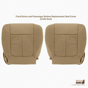 Miraculous Details About 1999 2000 Ford F150 Front Driver And Passenger Bottoms Cloth Seat Cover In Tan Squirreltailoven Fun Painted Chair Ideas Images Squirreltailovenorg