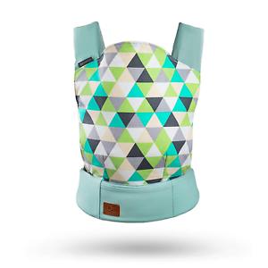 kk Kinderkraft NINO Ergonomic Baby Carrier Front Mint