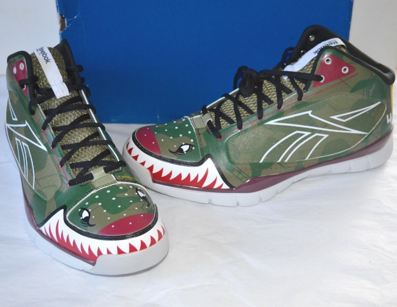 New Reebok (PE) Sublite Pro Rise Jason Terry Player Exclusive Fighter Jet Camo