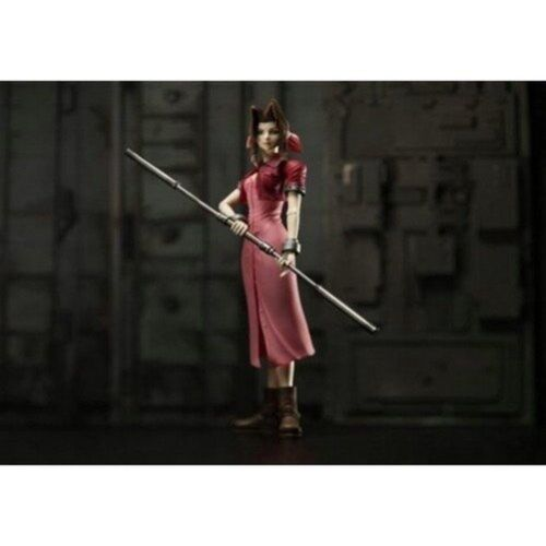 New NEW PLAY ARTS FINAL FANTASY VII Aerith Gainsborough action figure JAPANESE