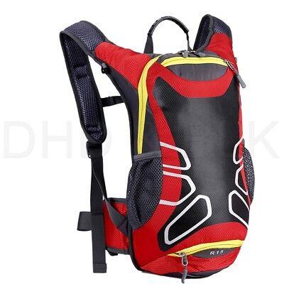 Lightweight Backpack with Helmet Storage Water Bladder Men Women Travel Outdoor