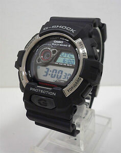 Details about casio g shock atomic solar men s watch gw 8900 1 gw8900