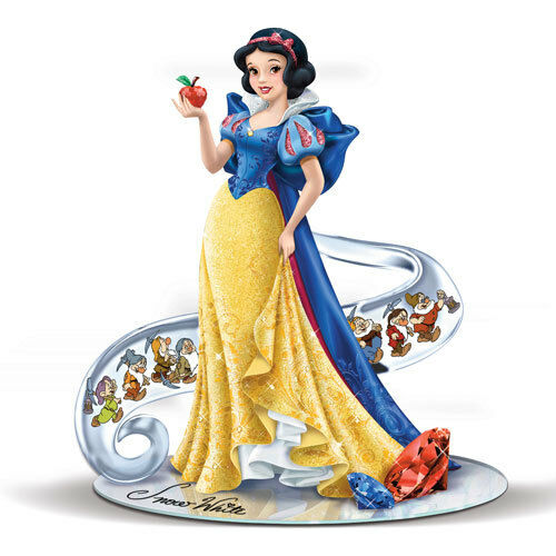 Hamilton Disney SNOW WHITE FAIREST OF THEM ALL Figurine 7 Dwarfs  80TH INSTOCK