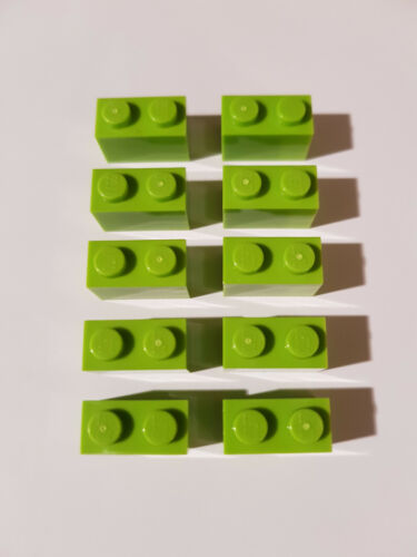 LEGO ® 10 x 3004 Basic pierre 1 x 2 lime 4164022 #ac04 friends elves Citron Vert