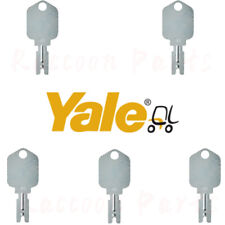 5pcs Yale Forklift Ignition Key 504227276 Crown Clark Hyster Gehl Cat Doosan