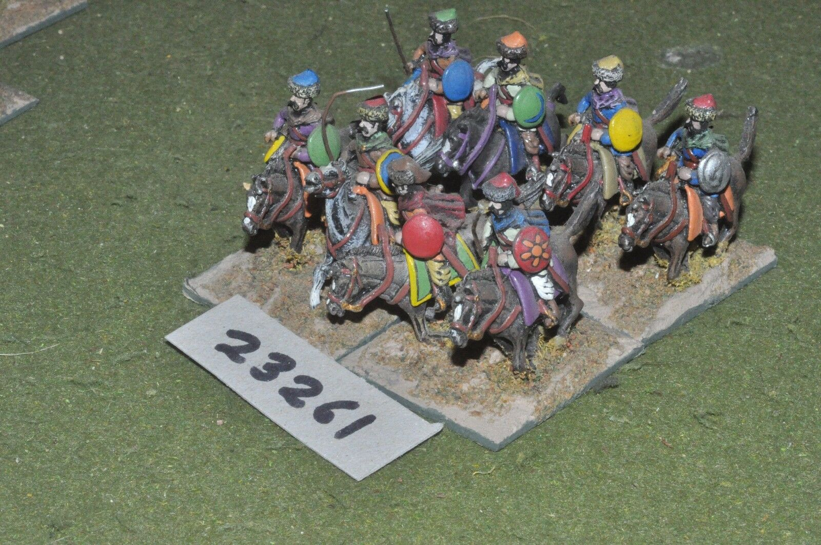 25mm renaissance   turkish - heavy 8 figures - cav (23261)