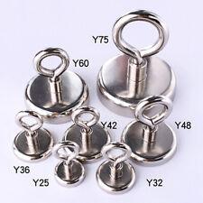 Neodymium Magnetic Magnet Eye Hooks Very Strong Craft Kitchen Fridge Tool Holder