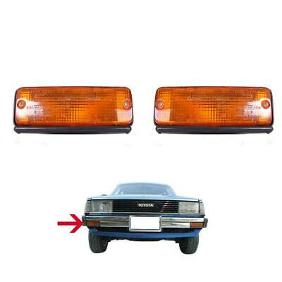 CLEAR BUMPER PARKING TURN SIGNAL LIGHT LAMP  FIT FOR COROLLA KE70 TE71 1983 1984