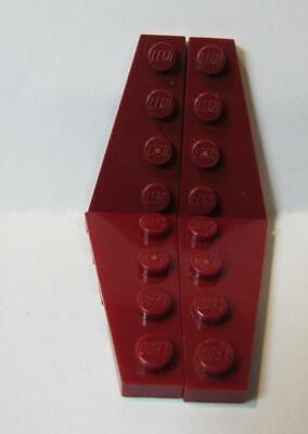 No 41770 Dark Bluish Gray Wedge Plate 4 x 2 Left QTY 5 LEGO Parts