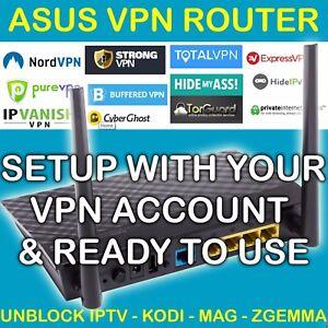 Détails sur VPNUNLIMITED VPN ROUTER UNBLOCK KODI ZGEMMA MAG IPTV SPORTS  OPENVPN LIKE DDWRT