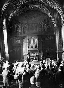 8x10 Print Amelia Earhart Historic Building in Paris 1932 #AE85