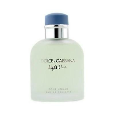 Light Blue by Dolce & Gabbana 4.2 oz Cologne for Men Tester with Cap