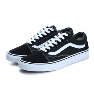 Men Women Student VAN OLD SKOOL Classic Top Suede Canvas Sneakers Flats Shoes