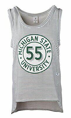 Venley NCAA Womens Premium Long Sleeve Slub Fabric Thumbhole Tee