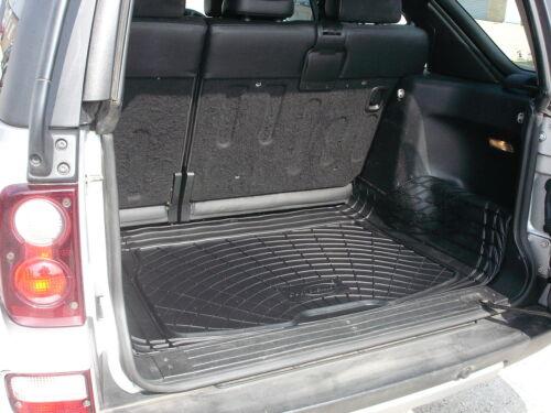 3pc natural rubber boot mat load liner bumper protector Freelander 1 5 doors