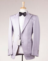 $5800 Tom Ford Lavender Superfine Cotton-linen Suit 38 R + Hanger (eu 48)
