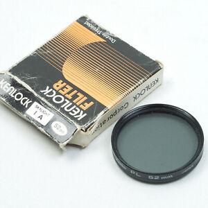 Kenko-PL-52mm-Circular-Polariser-Filter-Made-in-Japan-Double-Threaded
