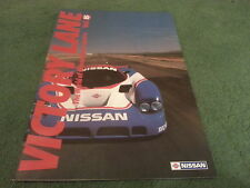 5 1989 NISSAN MOTOR SPORTS VICTORY LANE VOL 15 R89C R88C 200 SX 300 ZX BROCHURE