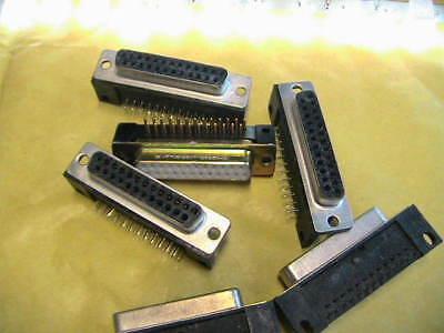 Sub-d 25 Pol Spostato Printbuchse Sortim. 7x 12320- Caldo E Antivento