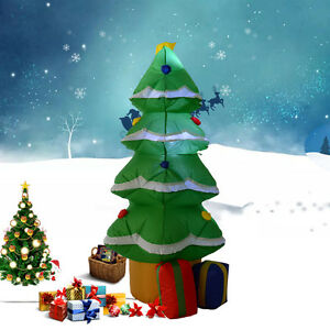 Image Is Loading 1 2M Waterproof Inflatable Christmas Tree Decoration Lawn