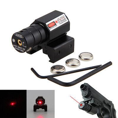 Compacto Táctico Red Dot Laser vista Tejedor//Riel Picatinny Soporte para pistola