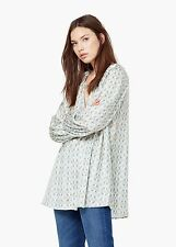 Ladies  loose fit shirt,Blouse new mango MNG size L UK 12