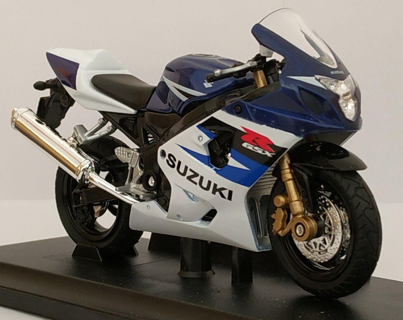1 18 SUZUKI GSX-R750 GSX R750 GSXR 750 MOTO DE COLECCION A ESCALA