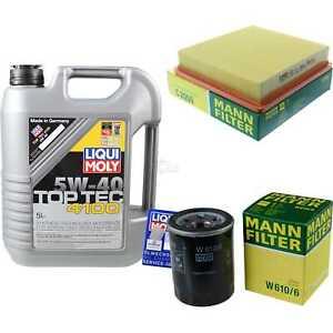 Inspection-Kit-Filter-LIQUI-MOLY-Oil-5L-5W-40-for-Honda-I-Rd-2-0