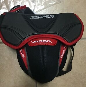 Image Is Loading Bauer S17 Vapor Jr Goalie Jock New Reactor