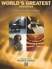 World's Greatest Piano Sonatinas by Alfred Music (Paperback / softback, 1994)