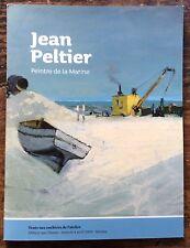 VENTE DE L'ATELIER JEAN PELTIER peintre de la Marine 277 lots décrits & estimés