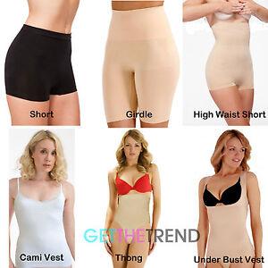 Women's Clothing Shapewear Womens Shapewear Ladies Control Shaping Vest Tummy Control Shorts Thongs Bodyfit