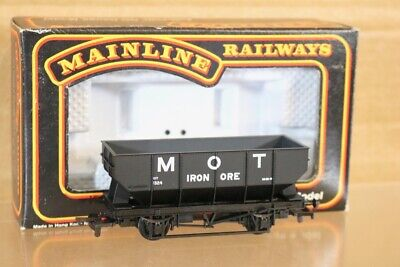 MAINLINE 37162 BR BROWN IRON ORE STEEL HOPPER WAGON No B435925 MINT BOXED nd