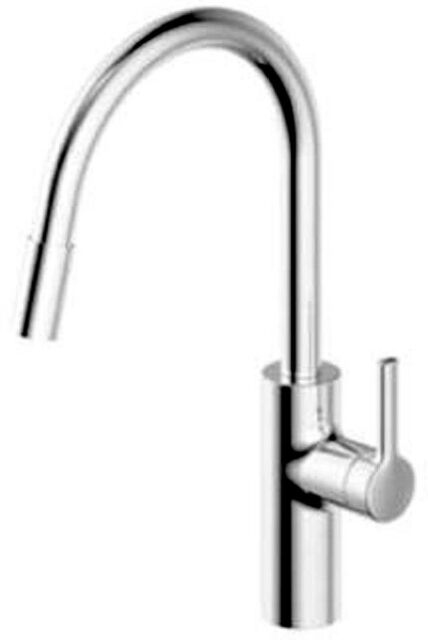 KWC 10.441.003.000 Luna-E Kitchen Faucet with Pull-Out Spray Chrome