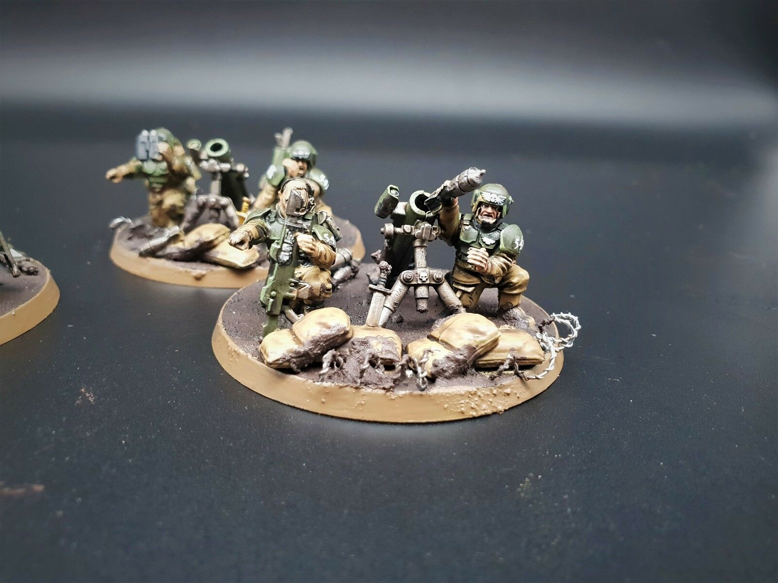 Warhammer 40k cadian defence defence defence force pro painted made to order 88e914