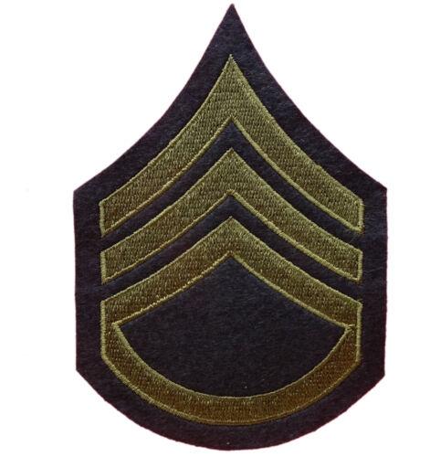 Staff Sergeant Stripes WW2 US Army reproduction US Arm Rank Insignia