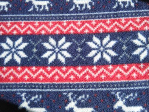 Pet blanket REINDEER Dog Cat puppy kitten Soft fleece bed crate 3 sizes Washable