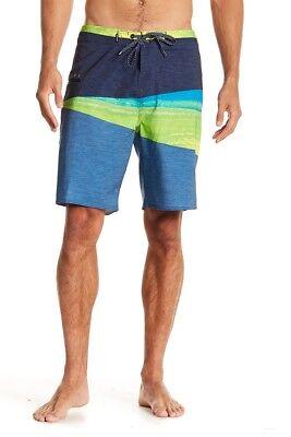 RIP CURL Elastane Bermuda Shorts Mens Swim Trunks Board Shorts Beach Shorts NWT