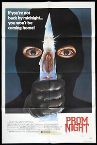 PROM-NIGHT-Original-US-One-sheet-Movie-Poster-Horror-Jamie-Lee-Curtis