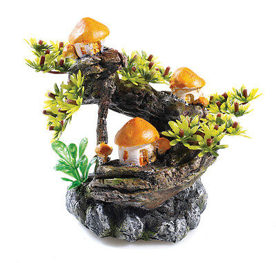 Bonsia Mushroom Tree 15L Biorb Aquarium Ornament Fish Tank Decoration