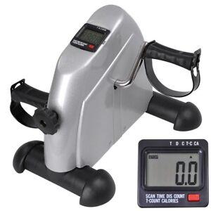 Mini-Exercise-Bike-Pedal-Exerciser-Arm-Leg-Resistance-Cycle-Workout-Seat-Fitness