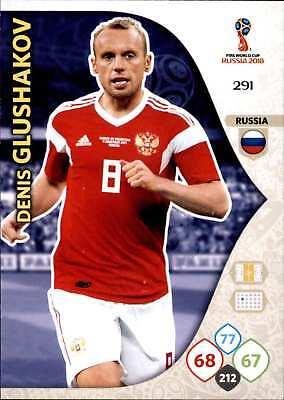 Adaptable Panini Wm Russia 2018 - Nr. 291 - Denis Glushakov - Team Mate