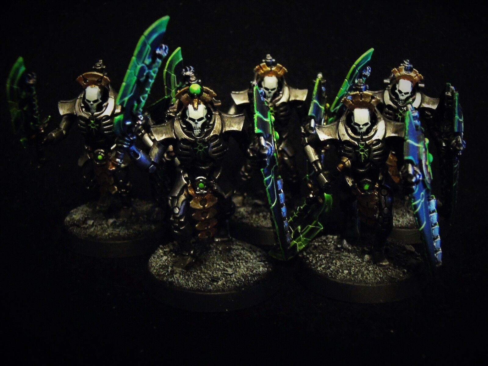 Warhammer 40,000 Necron lychguard Pro Pintado