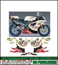 kit adesivi stickers compatibili  rsv 1000 r ms moto gp