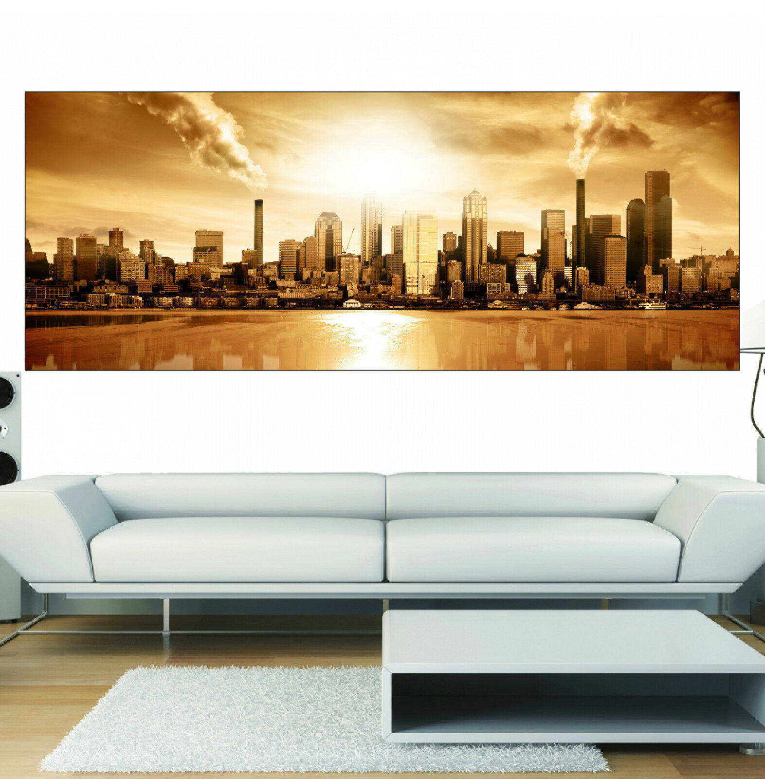 Aufkleber Panorama Deko City Ref 3644 (13 Größe)